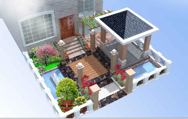庭院住口景观 (1)