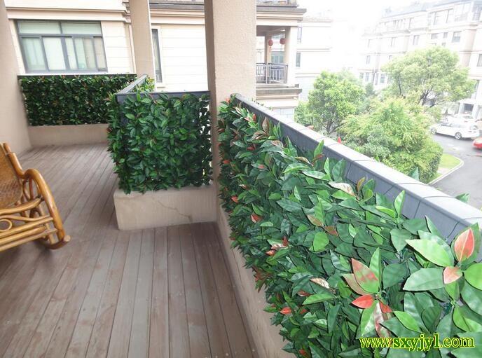 景观阳台护栏仿真植物