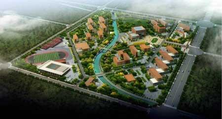 抚顺大学校园景观设计