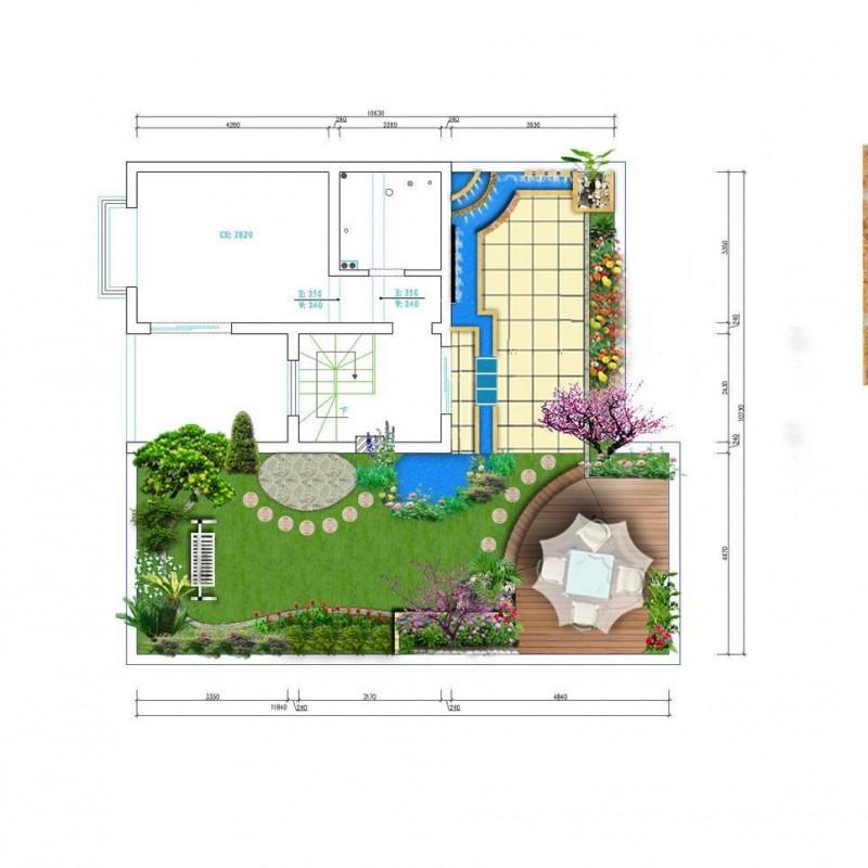 屋顶绿化图片