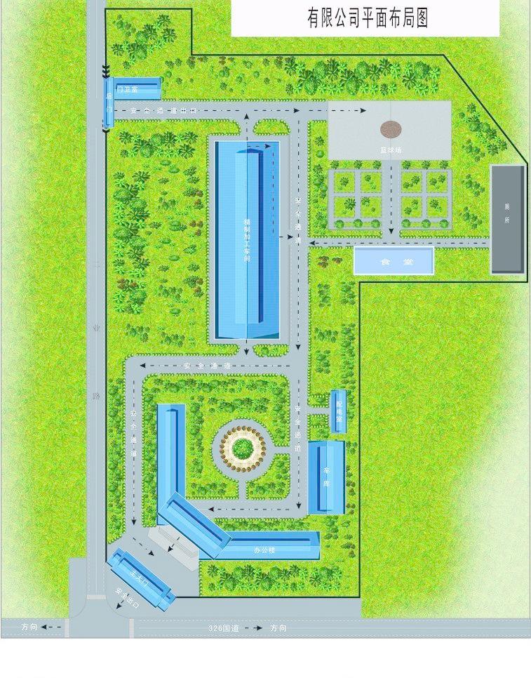厂区平面图