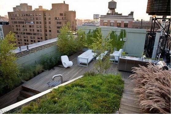 屋顶花园构想