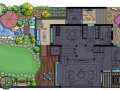 别墅庭院景观设计、屋顶花园绿化
