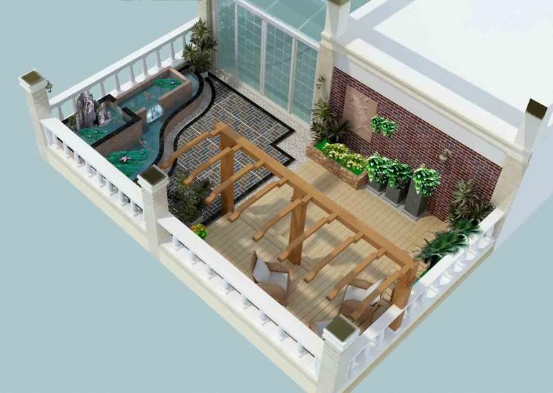 楼台绿化 (1)