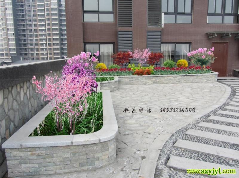 中冶集团西北公司屋顶绿化 (4)