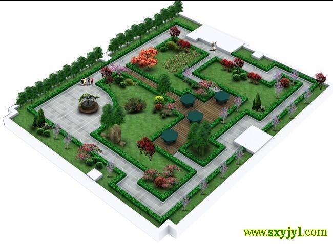 屋顶绿化示意图 (1)