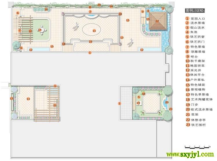 别墅景观绿化设计 (7)
