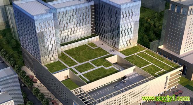 陕西文化中心屋顶花园理水系统 (5)