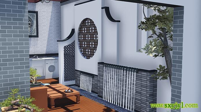 庭院景观设计作品 (4)