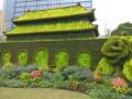 上津古城街头植物造型 (2)